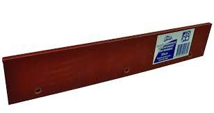 Red rubber floor squeegee refill-45cm