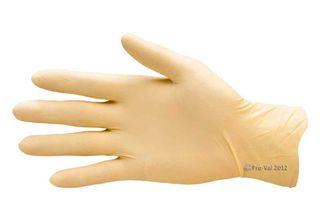 Securitex Gloves Latex P/F Medium