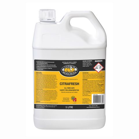 Citrafresh Citrus Carpet Prespray 5l Ph9