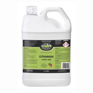 Citrawash Laundry Liquid 5 litre