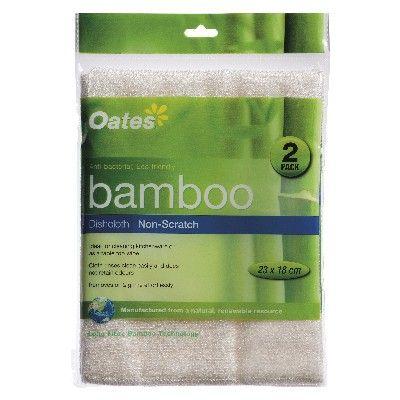 Bamboo Cloth Non-Scr 23x18  2PK