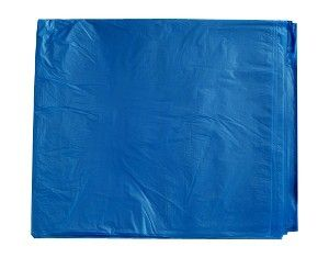 73L Blue Bin Liners Flat-Ctn 500; 17um