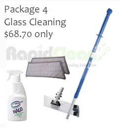 Oates Flatmop pkg glass cleaning