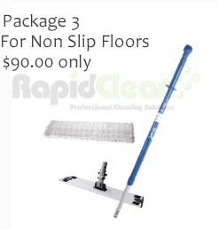 Oates Flatmop pkg rough floors washable