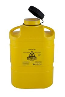 Sharps Container 8L Screw Top