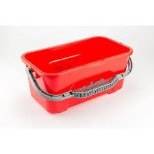 Edco 11Ltr Red Mop Bucket All Purpose