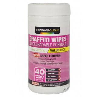Graffiti Remover Wipes 40 Towels