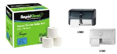 Rapid Toilet Rolls 700sh 2ply Image