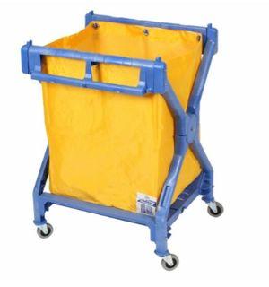 Deluxe Plastic Scissor Trolley & Bag