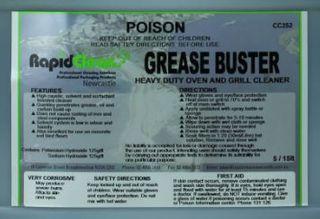 Grease Buster 500ml Bottle & Trigger