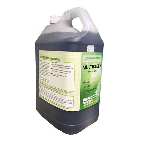Multikleen Spray n Wipe-5 Litres