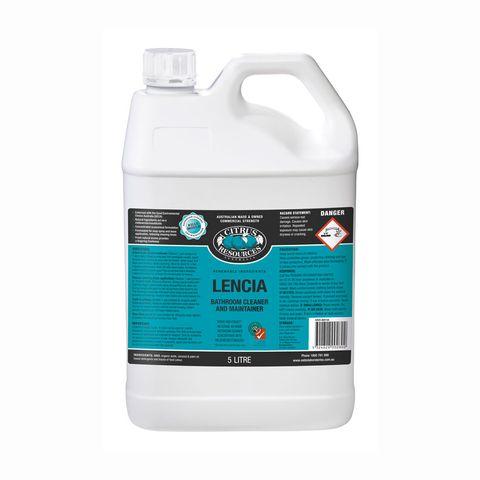 Lencia Citrus 5l Bathroom Cleaner Concn