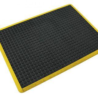900x1200  Air Grid Mat Yellow Border