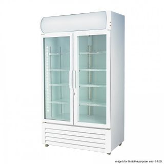 LG-1000GE Fridge White two door