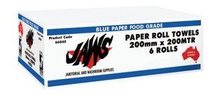 BLUE 200mtr Autocut Paper Ctn6