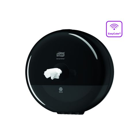 SmartOne Single Black Mini Toilet Dis T9
