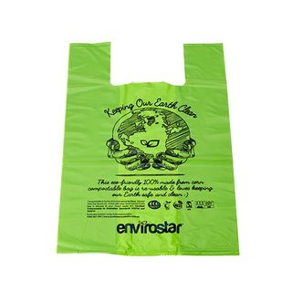 Medium Singlet Bags-compostable Ctn/800