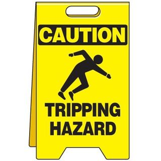 Heavy Duty Tripping Sign