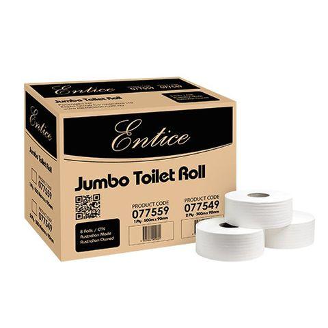 Rapid Classic 2ply 300m Jumbo Toilet Rol