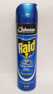 Raid Flying Insect Killer-400g Odourless