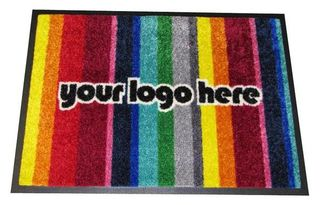 Logo Mat 600mmX850mm (up to 12 colours)