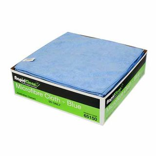 Microfibre Blue Cloth Carton of 50