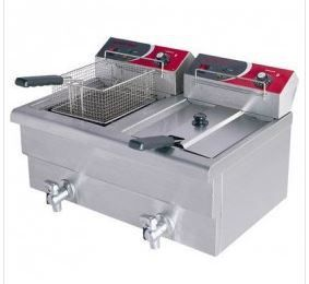 Electric benchtop Fryer 2x7.5l double