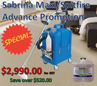 Sabrina Maxi/Spitfire Advanced Promotion