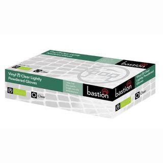 Gloves Vinyl Clear L/P Large 100/box