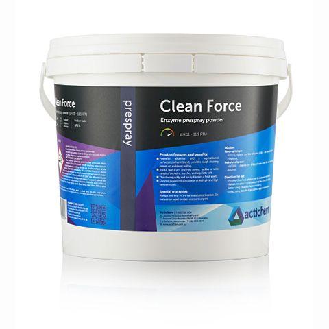 Clean Force Enzyme Prespray Powder-20 Kg