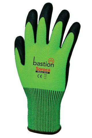 Soroca Cut 5 Green Gloves-Small/Size 7