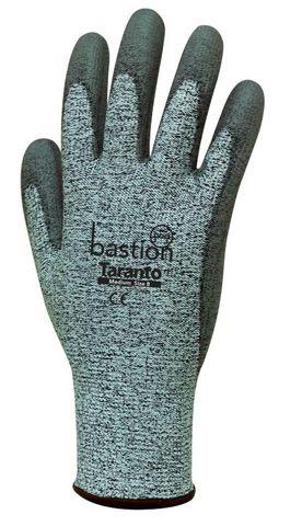 Taranto Cut 5 Grey Gloves-Small/Size 7