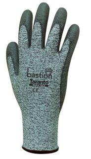 Taranto Cut 5 Grey Gloves-Medium/Size 8