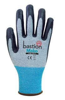 Mako Cut 3 Grey Spandex Gloves-Large