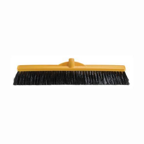 Broom - Medium/Stiff 600mm Yellow Stock