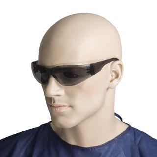 Smoke lens safety glasses UV