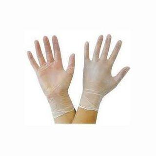 Gloves Vinyl Clear P/F Med 100/box