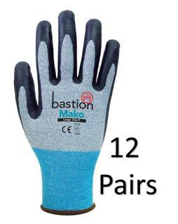 Mako Cut 3 Spandex Gloves-Medium (12 Pr)