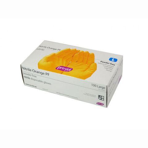 Nitrile Orange Medium P/Free