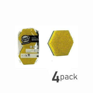 Scotch Bright Sponge Pad Hexagon-4 pack