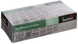 Gloves Vinyl Clear PF small 100/box