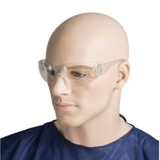 Clear lens safety glasses UV