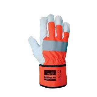 Navarro Rigger gloves lar/10 high viz