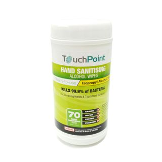 Hand Sanitising Alcohol Wipes 70 Count