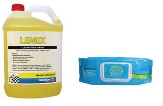 Lemex & SpeedyWipes PH Neutral Detergent