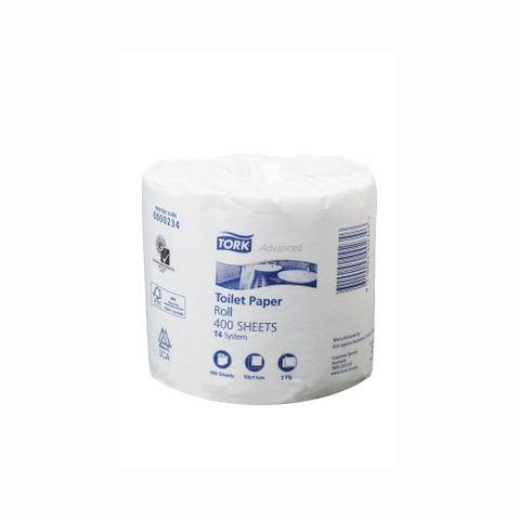 Tork Advance Toilet Roll 2Ply 400 sht T4