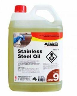 Agar Stainless Steel Oil 5L