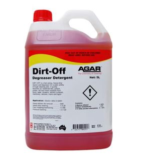 Agar Dirt Off 5L Heavy Duty Cleaner