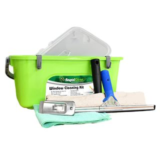 Rapid Window Cleaning Kit+12lt Bucket