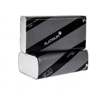 Platinum Handtowel 2ply Slimfold 23x22cm